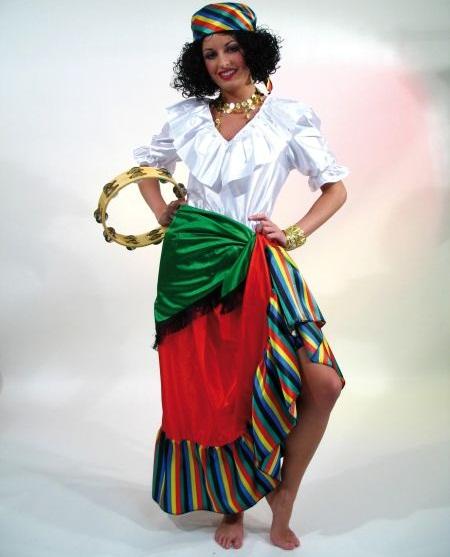 zigeunerin kost m spanierin mexikanerin s dl nderin. Black Bedroom Furniture Sets. Home Design Ideas