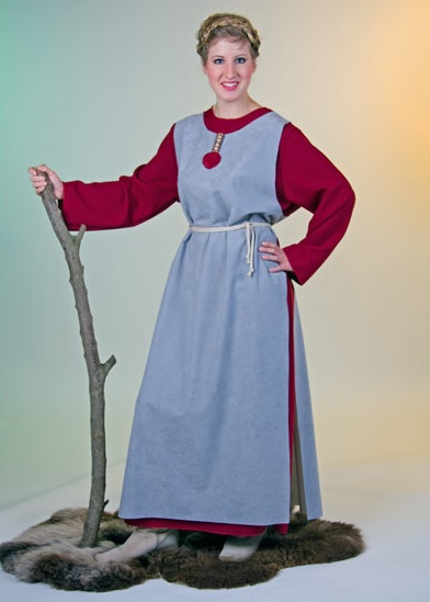 wikingerin kost m wikinger frau b uerin mittelalter maria karneval verkleidung. Black Bedroom Furniture Sets. Home Design Ideas
